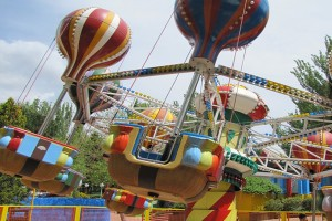 Escapada con Encanto a Madrid. Parque de Atracciones. Área Infantil