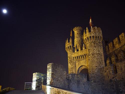 Hotel con Encanto en Ponferrada. Castillo de los Templarios