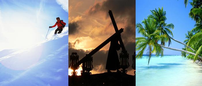 Cinco destinos para Semana Santa.