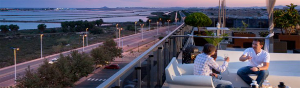 Hoteles románticos en Murcia