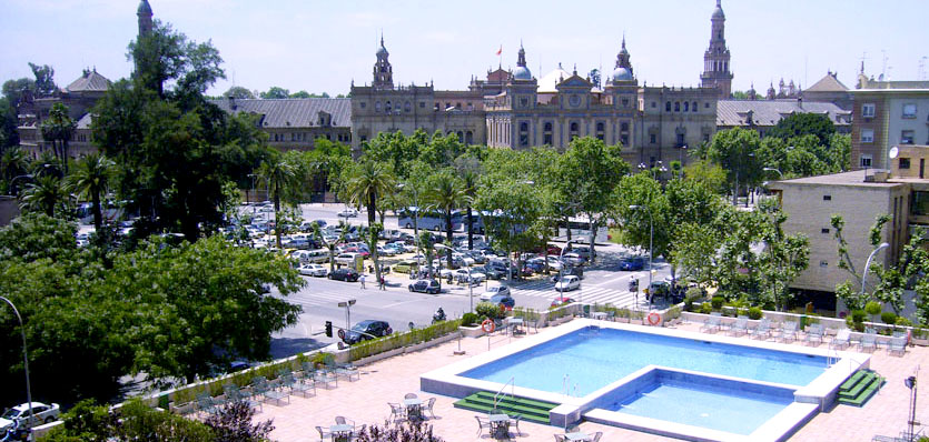 Hoteles Baratos en Sevilla. Meliá Sevilla