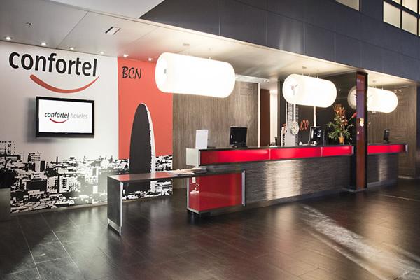 Hotel Confortel en Barcelona
