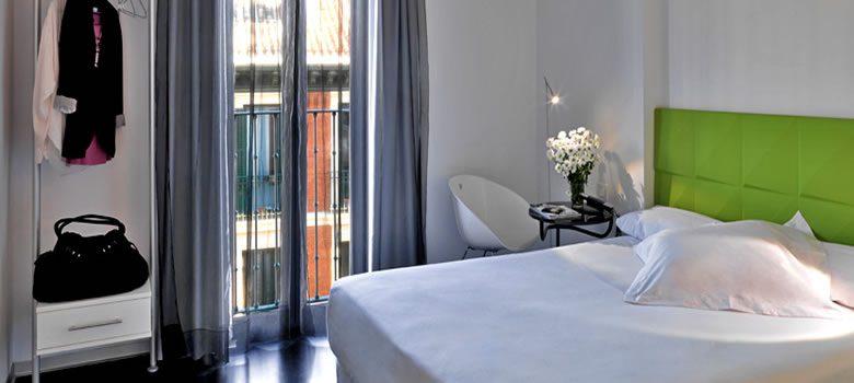 Hoteles con Encanto en Madrid Centro. Chic&Basic Mayerling