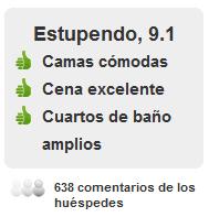 Comentarios Hotel Santa Cristina San Sebastián