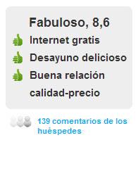 Comentarios clientes del Hotel Diagonal Plaza en Zaragoza