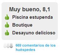 Comentarios Hotel Hospes las Casas del Rey de Baeza en Sevilla