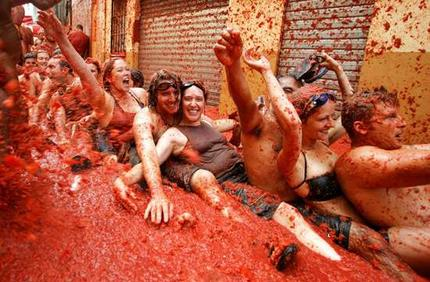 Fiesta de la Tomatina