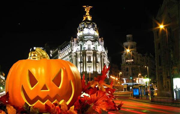 Celebra Halloween en Madrid