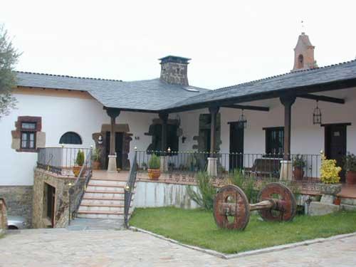 Hotel Pazo do Castro en Ourense.