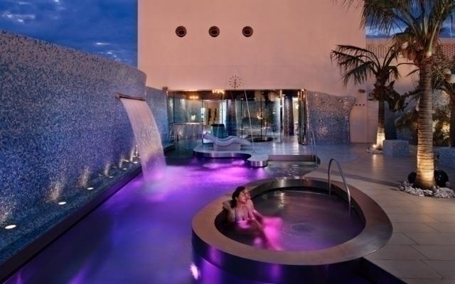 Spa del Hotel Balneario Las Arenas