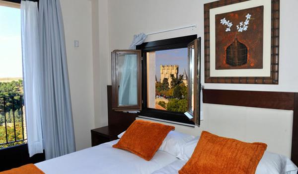 Hotel en el centro de Segovia