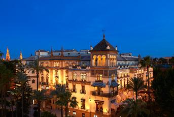 Hotel Romántico en Sevilla Hotel Alfonso XIII