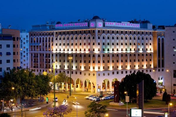 Hoteles para ejecutivos en Sevilla
