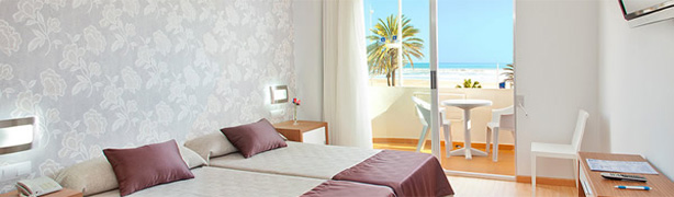 Hoteles en la playa en Gandía