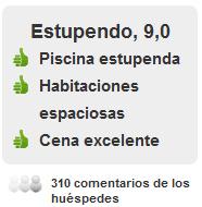 Comentarios Huéspedes Hotel en Mirasierra Suites y Spa.