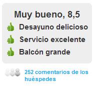 Comentarios Hotel Montíboli en Villajoyosa