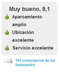 Comentarios Hotel AC Los Enlaces en Zaragoza