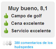 Comentarios Hotel El Rompido Gofl Cartaya en Huelva