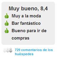 Comentarios Hotel Omm en Barcelona