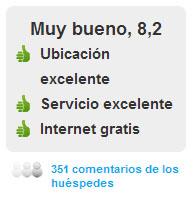 Comentarios Hotel Onix Liceo en Barcelona